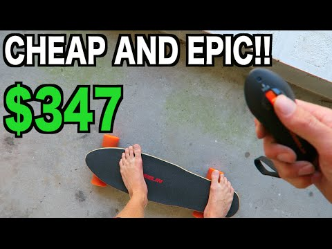 EPIC MINI ELECTRIC SKATEBOARD!!! Daily Giveaway