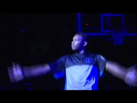 Duke 2013 Men's Basketball, Countdown to Craziness, Christie Digital Projectors