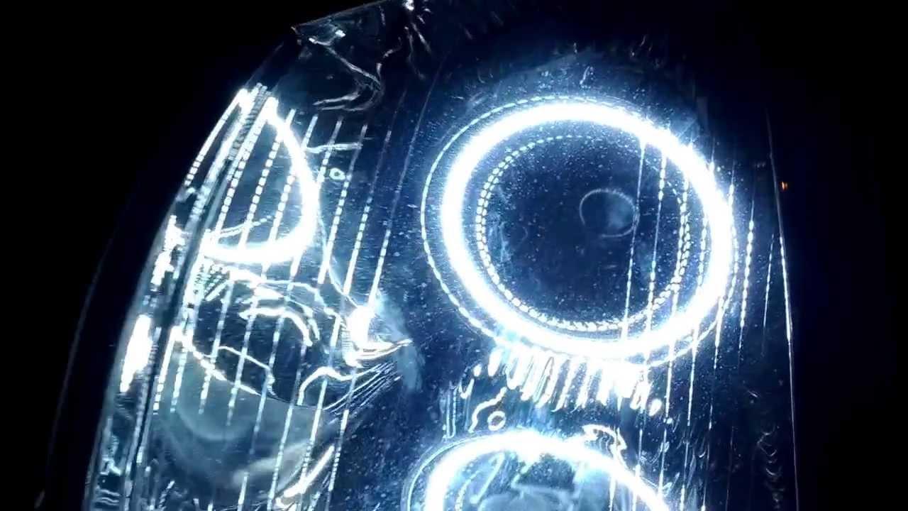 Cadillac Sts Oracle Headlight Upgrade Youtube