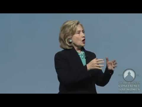 Massachusetts Conference for Women 2014 Keynote - Hillary Rodham Clinton