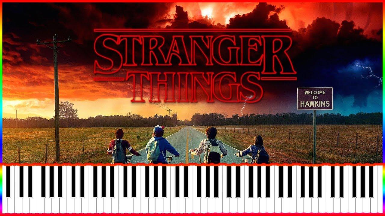 Stranger Things Theme Piano Midi