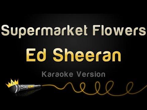 Ed Sheeran - Supermarket Flowers (Karaoke Version)
