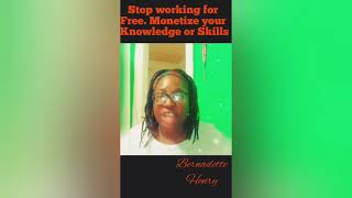 Monetize your knowledge and skills