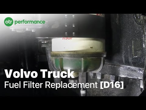 Volvo Truck R90p Fuel Filter How To Otr Performance