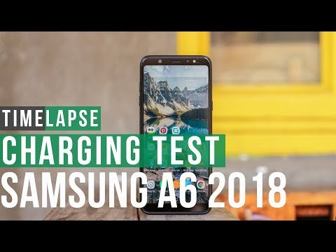 Samsung Galaxy A6 Battery Charging Speed Test