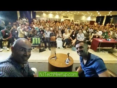 NJ Tech Meetup 63: Gary Vaynerchuk and Aaron Price fireside chat