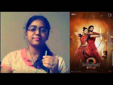 Bahubali 2 | Kanna Nidurinchara | M.M Keeravani Music | Cover by Shwetha