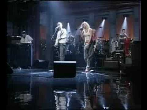 Moby feat. Gwen Stefani - South Side Live @ Letterman