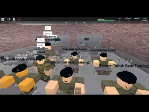 My First Training In Roblox Ba British Army Academy Motorcycle