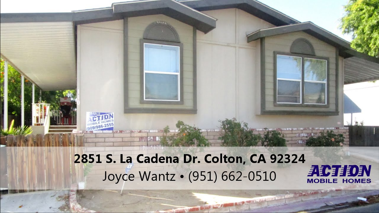 FOR SALE Mobile Home In Colton CA