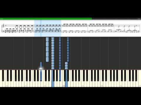 The Script - Breakeven [Piano Tutorial] Synthesia