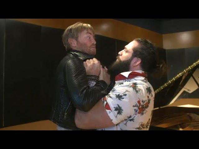 Drake Maverick tries to ambush 24/7 Champion Elias in the recording studio
