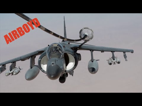 Harrier, Tornado, F-15E and B-52 Refueling