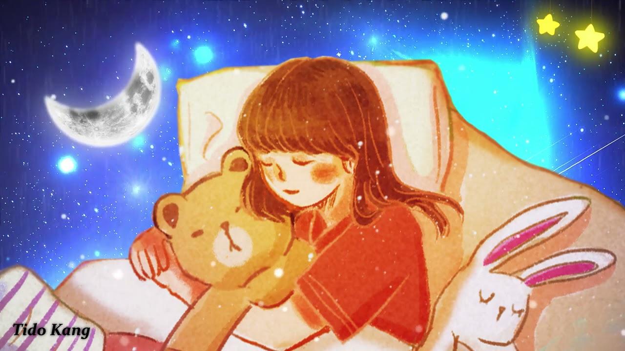 "10 Hours Relaxing Sleep Music🎵 Deep Sleeping Music, Rain Sound, Meditation Music ""Hug"""