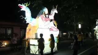 粟田神社「粟田祭 夜渡り神事(大燈呂巡行)」2012年その3 big lanterns festival