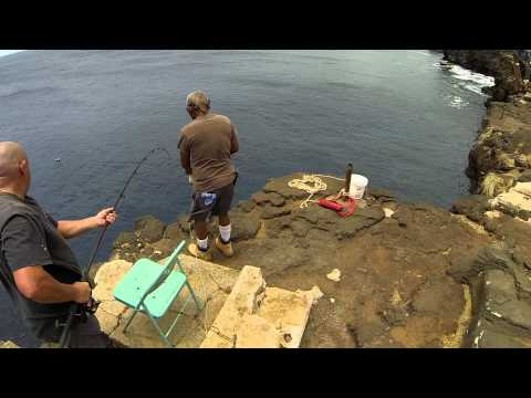 South Point Fishing, Hawaii