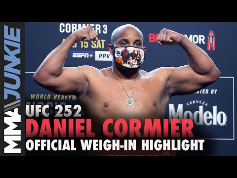 Ufc 252 Miocic Vs Cormier 3 Official Weigh In Live Stream Mma Fighting Youtube