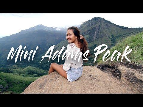 MINI ADAMS PEAK & DIYALUMA FALLS | SRI LANKA VLOG 4/5