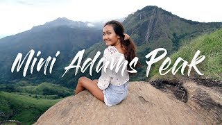 MINI ADAMS PEAK & DIYALUMA FALLS | SRI LANKA VLOG 4/5