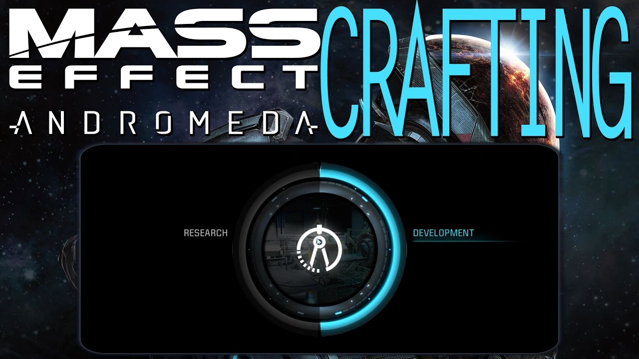 Crafting in mass effect andromeda research development guide crafting in mass effect andromeda research development guide malvernweather Gallery