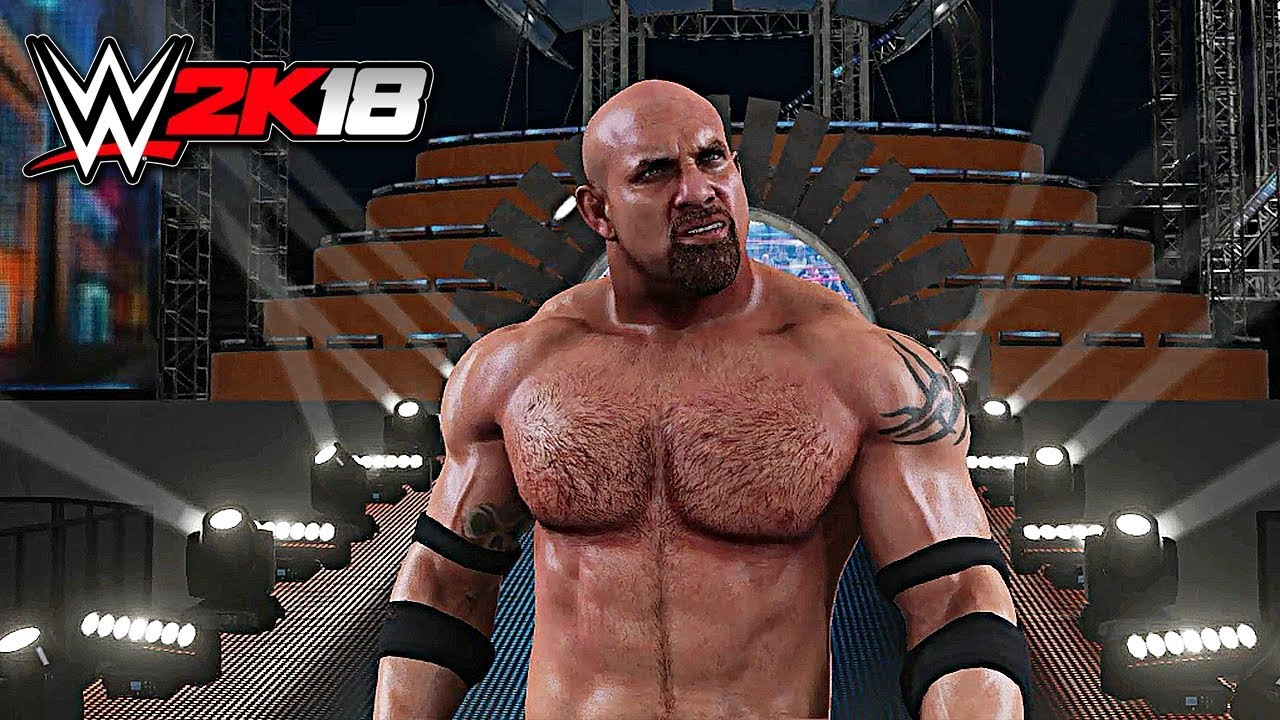 Creeper Wallpaper Hd Wwe 2k18 Exclusive Goldberg Official Entrance In