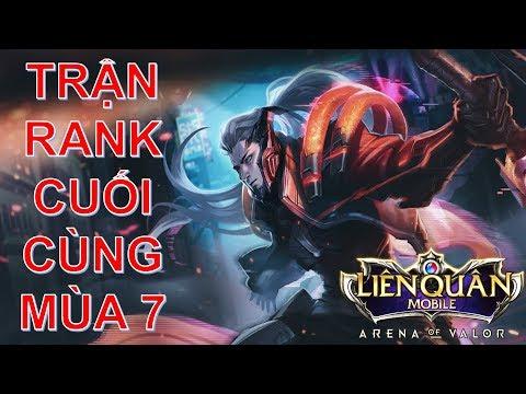 Trận rank cuối cùng mùa 7 cùng MURAD phong cách gươm sấm sét | Arena of Valor murad