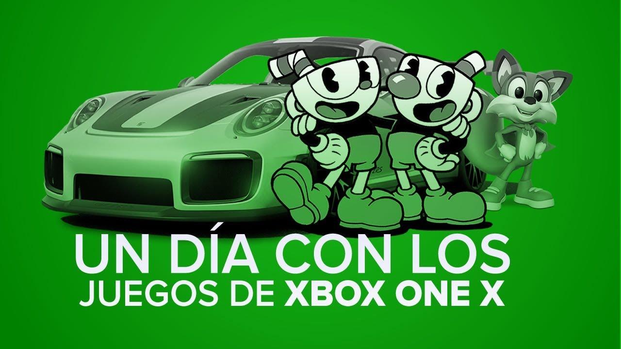 Un Dia Con Los Juegos De Xbox One X Youtube