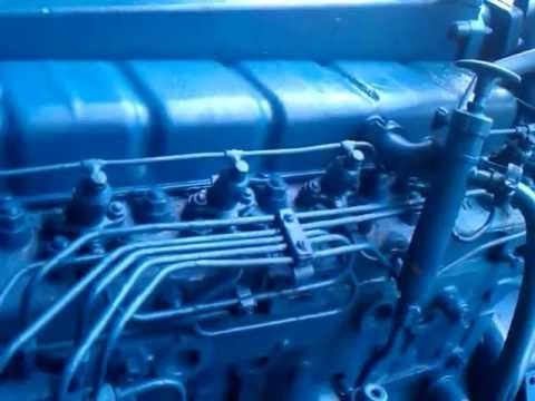 4 Cylinder Engine Diagram Perkins 6 354 Running With Turbo Youtube