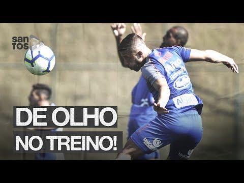 SANTOS TREINA EM BH ANTES DO RETORNO PARA CASA | DE OLHO NO TREINO (19/08/19)