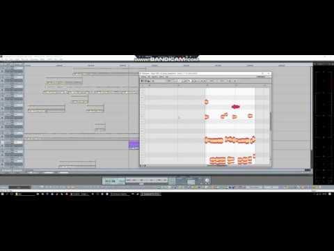 Samplitude/Sequoia Clip base non destructive Melodyne Edit