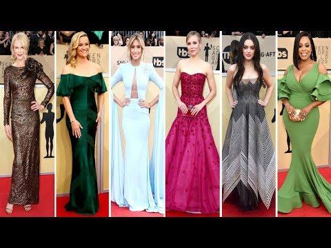 SAG Awards 2018 | Red Carpet | Full Video | Celebrity Dresses