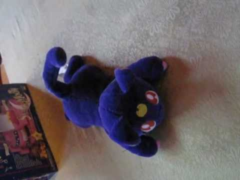 Sailor Moon North American Musical Moving Luna Plush Toy
