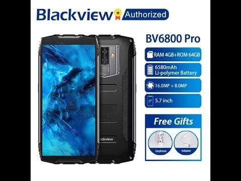 BV 6800 - обзор еще одного отличного защищенного смартфона от Blackview