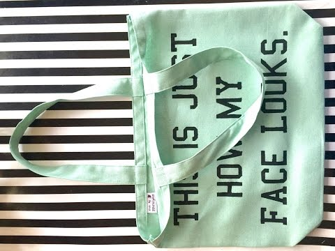 How To Sew A Super Simple Tote Bag
