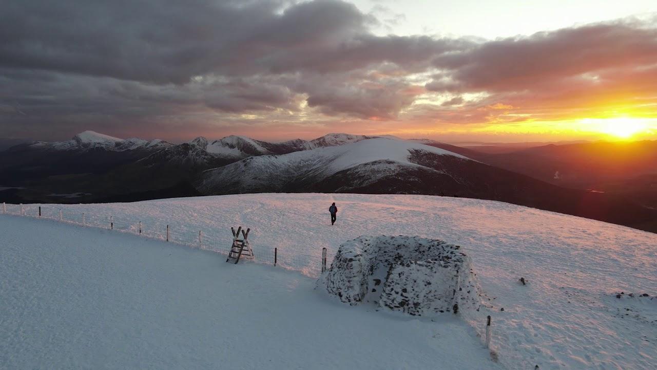 Winter Sunset over Snowdon...