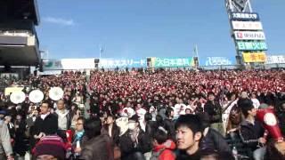 高崎高校 甲子園 応援と金子主将2塁打で先制点の直前、続きあり.