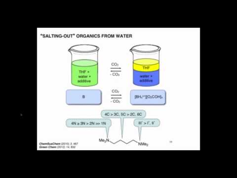 Using Water To Replace Organic Solvents: Switchable Water