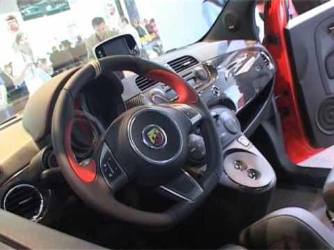 Fiat 500 Abarth 695 Tributo Ferrari Youtube