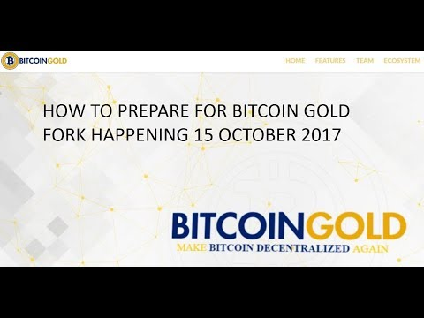 Bitcoin Gold: How to prepare for the fork. What to know. 19 Oct 2017