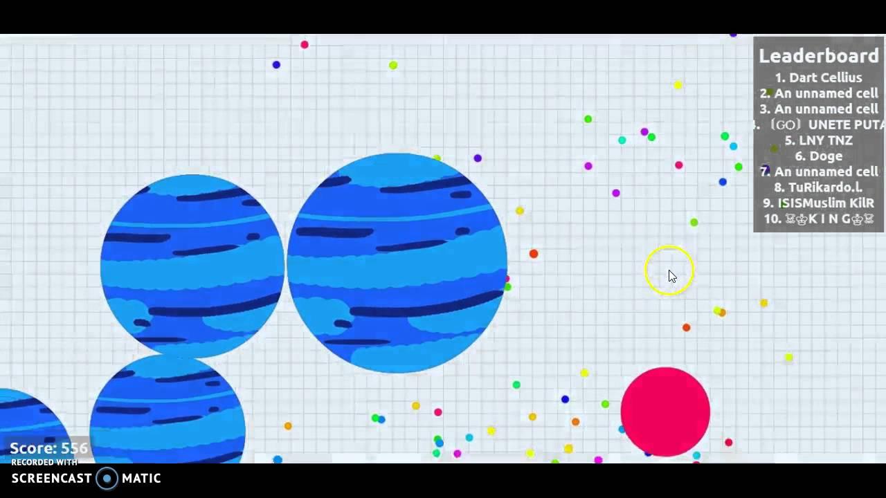 Lets Play Agario! #1 - YouTube