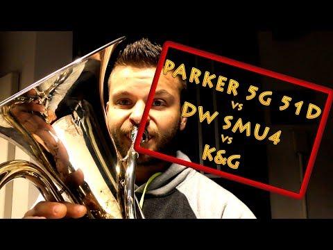 Q&A Denis Wick SM4U vs Parker 5G 51D VS K&G Mouthpieces