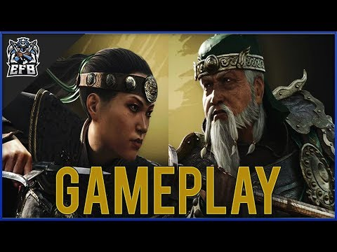 For Honor - NUXIA & JIANG JUN GAMEPLAY!! (REACTION)