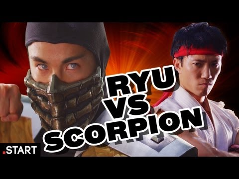 Mortal Kombat vs Street Fighter In Real Life - Ultimate Fan Fights Ep. 2