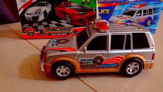 Police car review by MCQueen baby toys