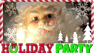 HOLIDAY PARTY! Games, Activities, Santa Claus and more Fun! Family Vlog