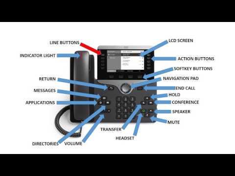 MCAP Cisco 8811 IP Phone Training Module Final  YouTube