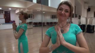 Видеоурок Индийского танца. Dance Cafe.