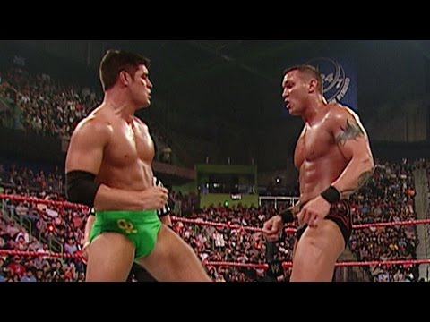 Cody Rhodes debuts against Randy Orton: Raw, July 16, 2007