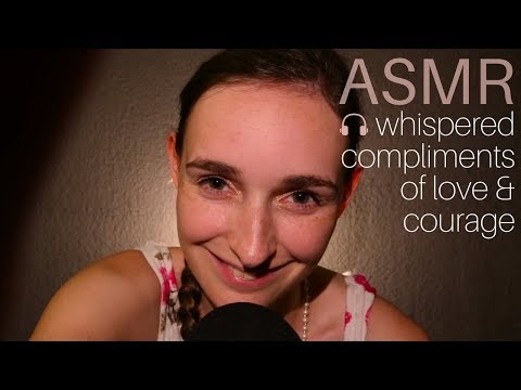 ASMR Shower of Love, Positivity & Encouragement ♥ Tingly Facial Rubs and Whispers for YOU!
