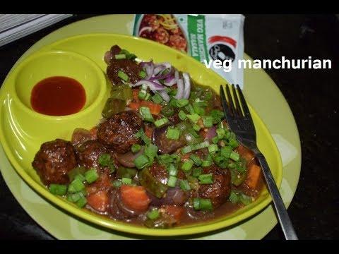 chings veg manchurian recipes / veg Manchurian recipe in vaishnavi channel /